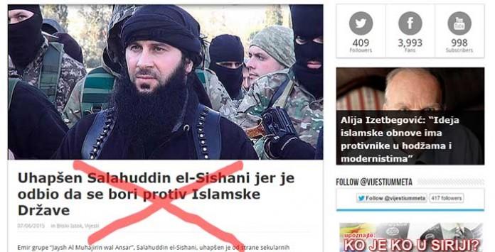 Salahudin nije uhapšen