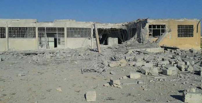 Bombardovana baza Džebhetun-nusre u Beragidehu
