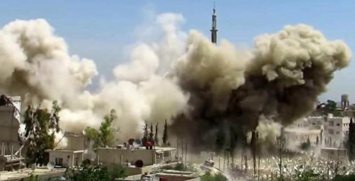 Sirija bombardovanje