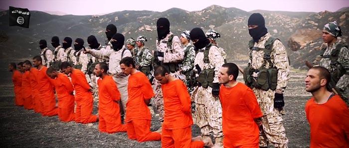 Scena iz IDIŠ-ovog video snimka klanja pripadnika Vojske islama