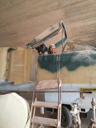 U jednom od zaplijenjenih aviona