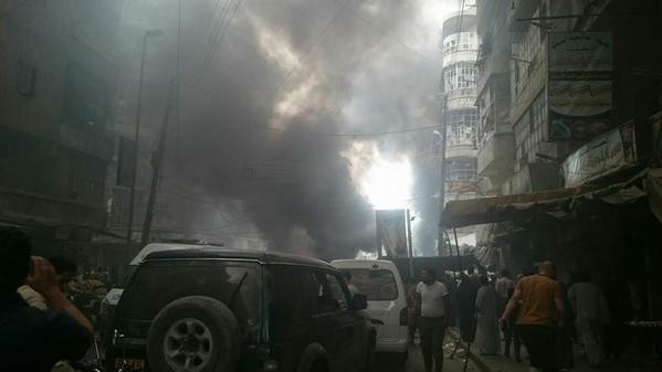 Napad na naselje Al-Šaar u Halepu
