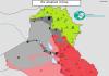IRAK: Mapa kontrole 2. septembar 2015. godine