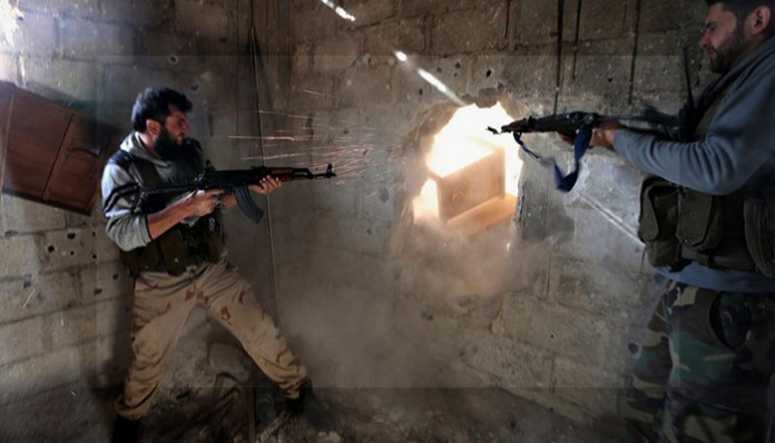 Rat u Siriji