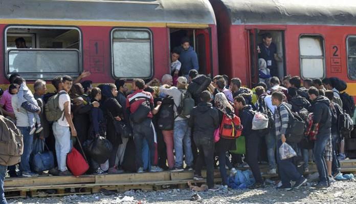Izbjeglice u Gevgeliji