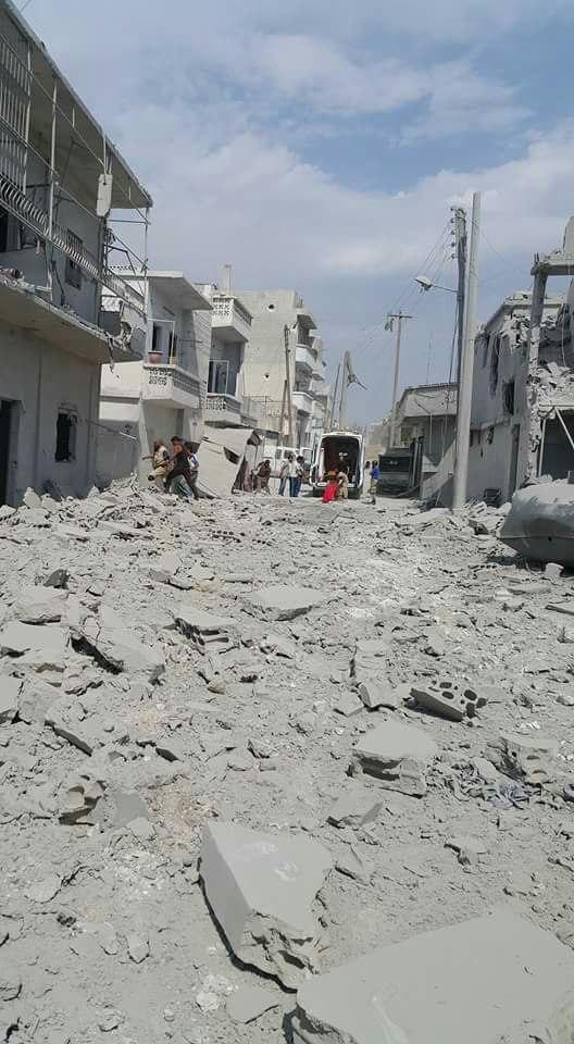 U ruskom napadu u četvrtak pogođena je džamija Omer ibnul Hattab u Džisru Šuguru