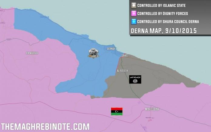 Situacija u Derni, 9. oktobar 2015
