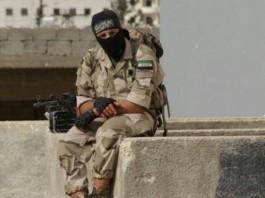 Borac pobunjeničke FSA skupine.