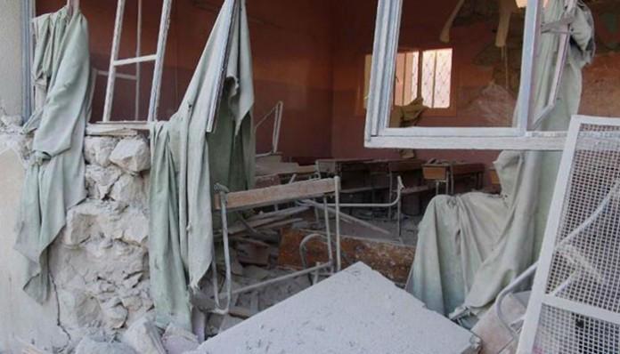 Škola bombardovana u ruskim terorističkim napadima