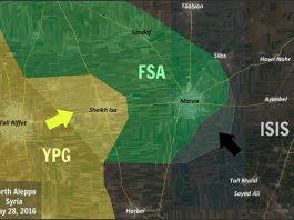 Sirija borbe na sjeveru Halepa