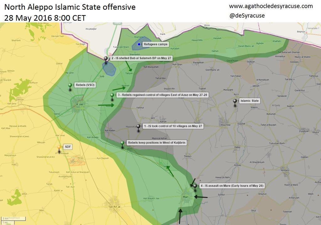 ISIL ofanziva na sjever Sirije