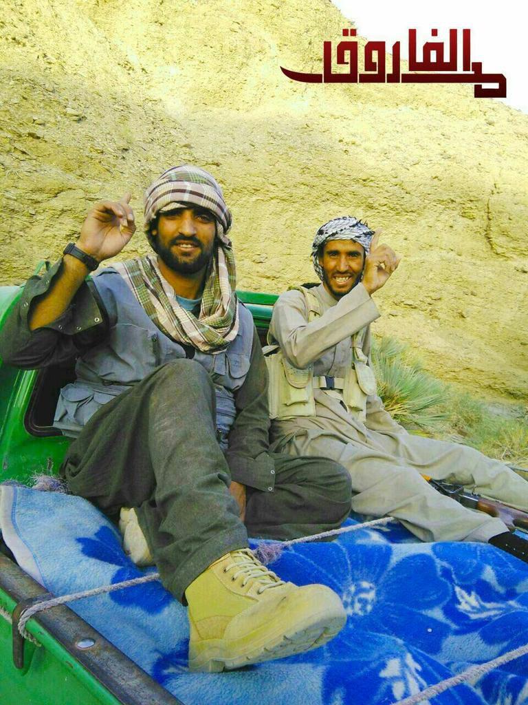 Ansar Al-Furqan fighers
