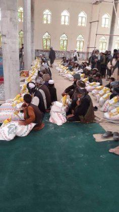 Islamski Emirat Afganistana (talibani) - podjela pomoći potrebnima u toku ramazana