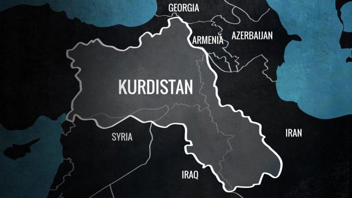 Mapa Kurdistana