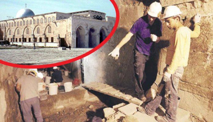 Rušenje El-Akse