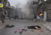 Prizor nakon današnjih rusko-šiitskih terorističkih napada nakolonu izbjeglica
