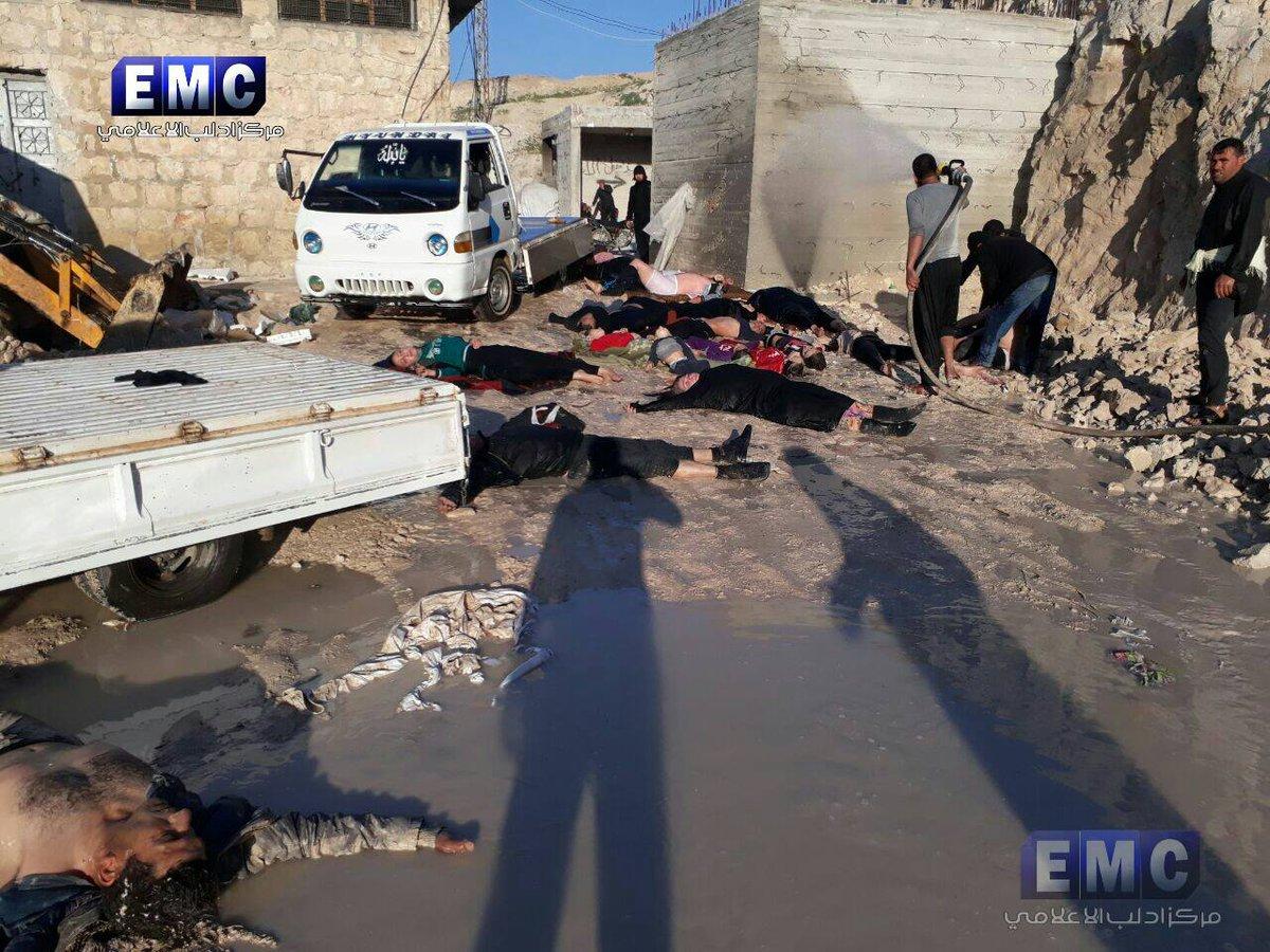 Napad nervnim gasom u Idlibu