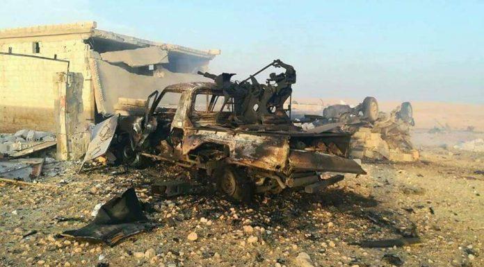 Ruski napad na bazu HTŠ-a u blizini Rahdžana