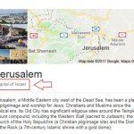 "Googleov ""nepristrasan"" opis Jerusalema"