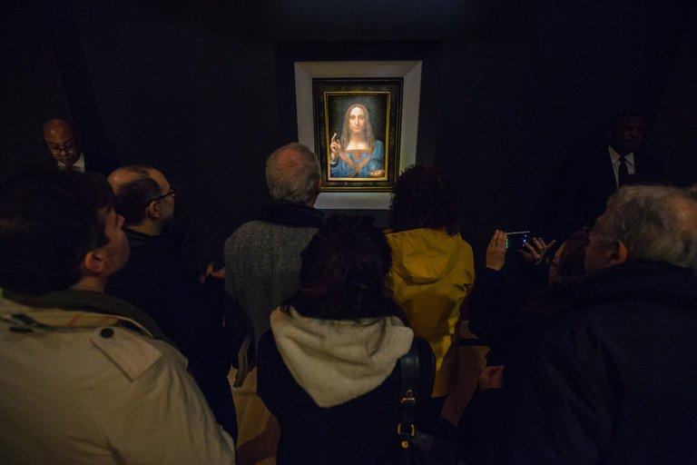 """Da Vinčijeva slika """"Salvator mundi"""" (Spasitelj svijeta)"""