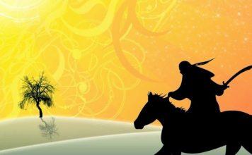 džihad, sablja, konjanik