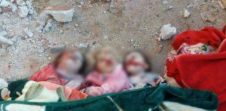 Kršćanski terorizam na djelu: sirijska djeca su najveće žetve ruskih terorističkih napada