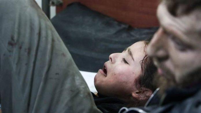 Dijete ranjeno u Istočnoj Guti