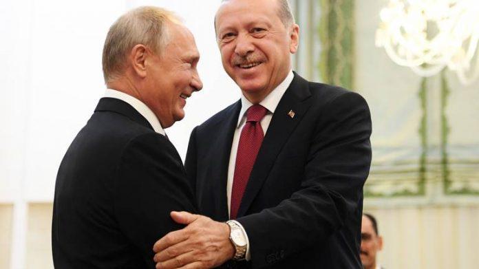 Putin Erdogan Sirija